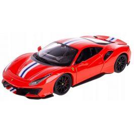 BBurago 1:24 Ferrari TOP 488 Pista červená