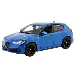 BBurago 1:24 Plus Alfa Romeo Stelvio modrá