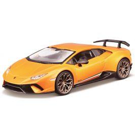 BBurago 1:24 Plus Lamborghini Huracan Performance oranžová