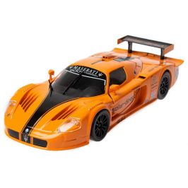 BBurago 1:24 Plus Maserati MC12 oranžová