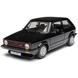 BBurago 1:24 Plus Volkswagen Golf MK1 GTI černé
