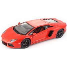 BBurago 1:18 Plus Lamborghini Aventador LP700-4 oranžová