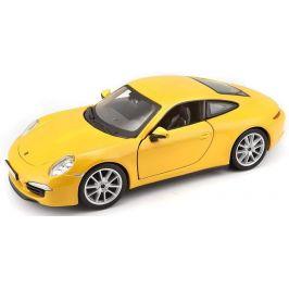 BBurago 1:24 Plus Porsche 911 Carrera S žlutá