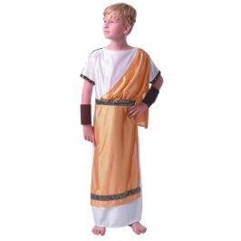 MaDe Šaty na karneval - řecký bůh 134 - 140