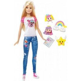 Mattel Barbie ve světě her s Emoji