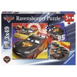 Ravensburger Disney Auta: Dobrodružství na silinici 3x49 dílků