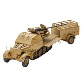 Revell ModelKit military 03207 - Sd.Kfz. 7/2 (1:72)