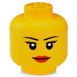 LEGO Úložná hlava (velikost S) - dívka