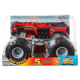 Hot Wheels Monster trucks velký truck 5 alarm