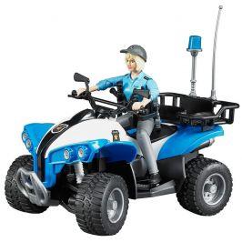 Bruder Bruder 63010 Policejní čtyřkolka s figurkou - rozbaleno
