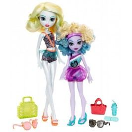 Mattel Monster High Sourozenci 2 ks Family Lagoona