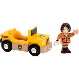Brio Safari auto s panáčkem