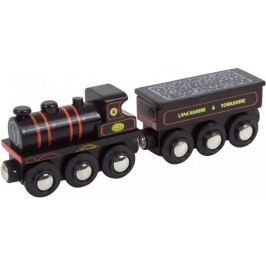 Bigjigs Rail Replika lokomotiva KWVR 957