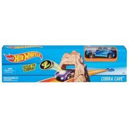 Hot Wheels Hrací souprava ohromný skok Cobra Cave
