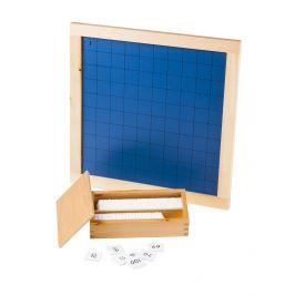 Montessori pomůcky Stovková tabule - rozbaleno
