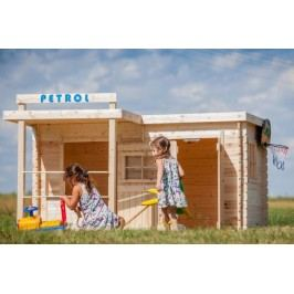 CUBS Dětský dřevěný domek Petrol