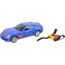 Mikro hračky Auto I-DRIVE s ovládacím náramkem modré