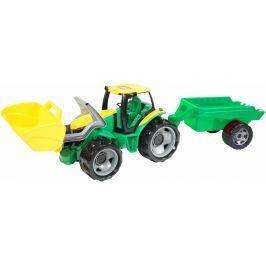 LENA Traktor se lžící a přívěsem, 110 cm - zánovní