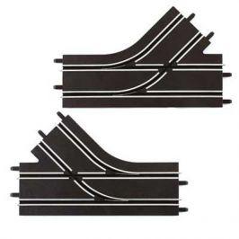 Carrera 61618 GO/D143 Mechanická výhybka levá + pravá - rozbaleno