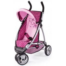 Bayer Design Jogger kočárek pro panenky, světle růžový - II. jakost