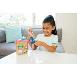 Mattel Barbie panenka a asijská restaurace - rozbaleno