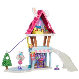 Mattel Enchantimals Horská chatka Herní set - rozbaleno