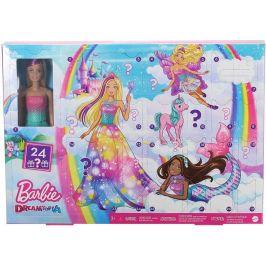 Mattel Barbie Adventní kalendář 2020 - rozbaleno
