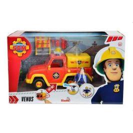 Simba Požárník Sam - Hasičské auto Venuše 19 cm s figurkou - rozbaleno