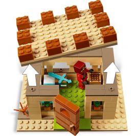 LEGO Minecraft 21160 Útok Illagerů - rozbaleno
