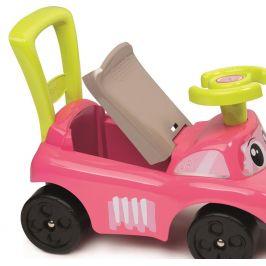 Smoby Odrážedlo auto růžové - rozbaleno