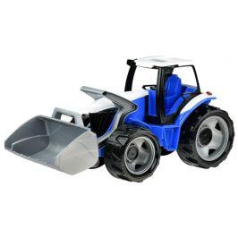 LENA Traktor se lžící modro šedý - zánovní
