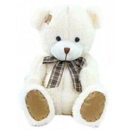 Rappa Plyšový medvěd s mašlí a záplatou, 27 cm