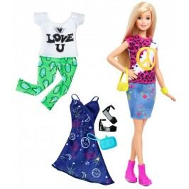 Mattel Barbie Modelka Peace and love