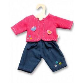 Heless Tričko růžové a džínsy