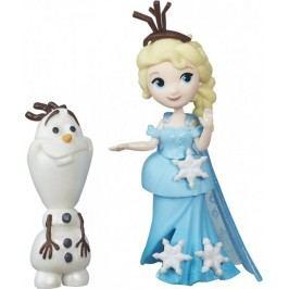 Disney Frozen malá panenka s kamarádem Elsa