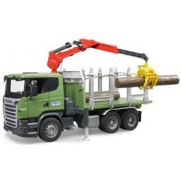 Bruder 3524 Nákladní auto Scania na přepravu dřeva