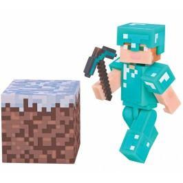 TM Toys Minecraft - Alex Diamond Armor sběratelská figurka s doplňky