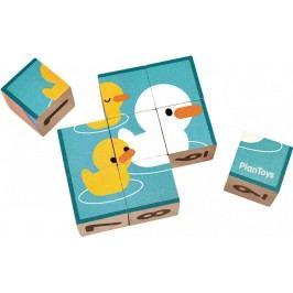 Plan Toys Obrázkové kostky