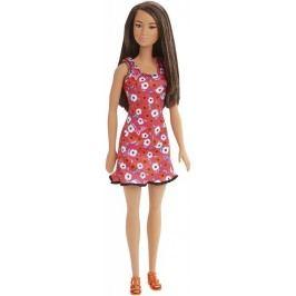 Mattel Barbie v šatech růžových s květinami