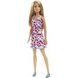 Mattel Barbie v šatech bílých s květinami