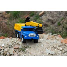 Dino Tatra 148 bagr 72 cm modrožlutý - zánovní
