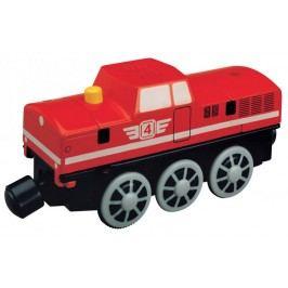 Maxim Elektrická lokomotiva - červená 50853