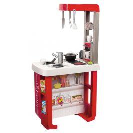 Smoby Kuchyňka Bon Appetit elektronická, červeno-bílá - zánovní