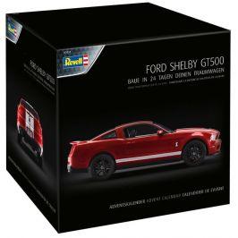 Revell Adventní kalendář Ford Shelby GT - 01031 - rozbaleno