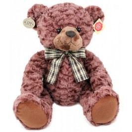 Rappa Plyšový medvěd retro sedící, 35 cm