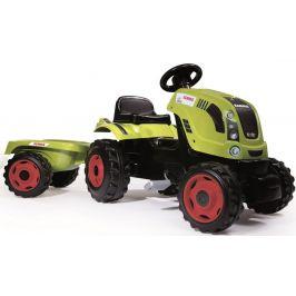 Smoby Šlapací traktor Class zelený s vozíkem - rozbaleno
