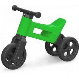 Teddies Odrážedlo Funny Wheels 2v1 zelená
