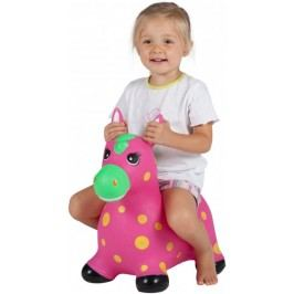 John Hopsadlo pony Neon růžový