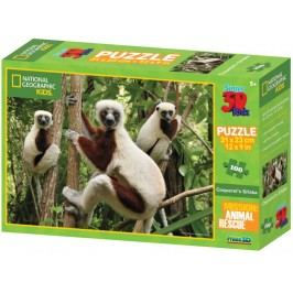 Lamps 3D Puzzle Kids Lemur 100 dílků
