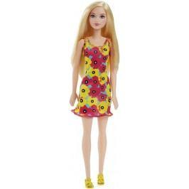 Mattel Barbie v šatech s barevnými květinami